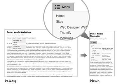 40 Free Useful Responsive Navigation Menu Tutorials | IA-UX | Scoop.it