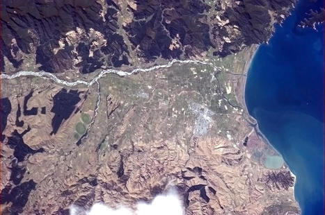Twitter / Cmdr_Hadfield: Blenheim, New Zealand, in the ... | Interwebby goodness | Scoop.it