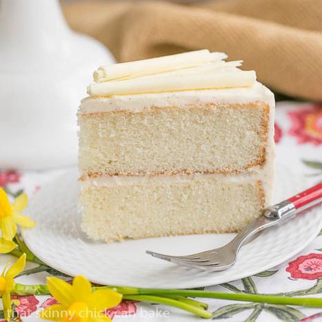 White Birthday Cake | Food | Scoop.it