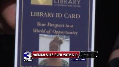 Woman Sues State Over VoterID | Tennessee Libraries | Scoop.it