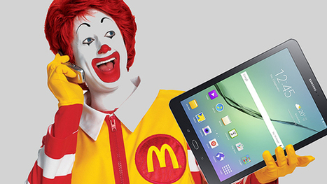 McDonald's Corporation (NYSE:MCD) TO USE Samsung Tablets In Its UK Outlets | Customer Service | Scoop.it