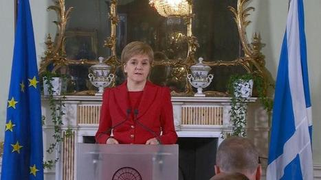 New Scotland independence referendum 'highly likely': Sturgeon | My Scotland | Scoop.it