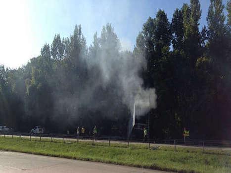 18-Wheeler Carrying Hazardous Materials Catches on Fire on I-20 | Hazardous Materials | Scoop.it