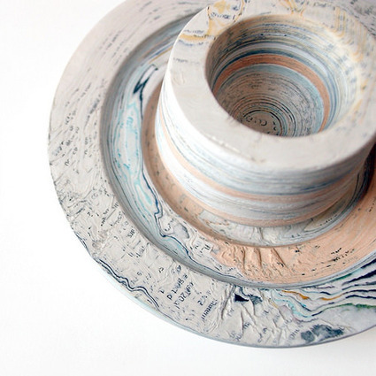 All Things Paper: Recycled Paper Sculptures - Hannah Lobley | Paper Art | Scoop.it