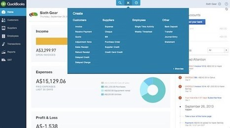 Review: The 'New Look' QuickBooks Online | IT and The Cloud for Accountants | Scoop.it