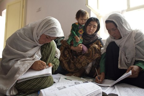 Group Enables Afghan Women To Read, Write In Secret | Peace Cord | Scoop.it