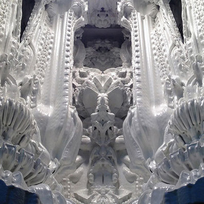 Italian sculptors move over: Prototype unveiled for world's first 3D-printed room | Well-Regulated Militia? | Scoop.it