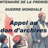 Guerre 1914-1918 : les Archives de Paris lancent un appel aux dons | Archimag | Nos Racines | Scoop.it