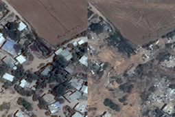 Before-and-After Satellite Photos Show the Damage in Gaza | CartOrtho | Scoop.it