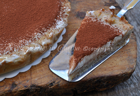Crostata al tiramisu bimby | Crostata tiramisu | Scoop.it