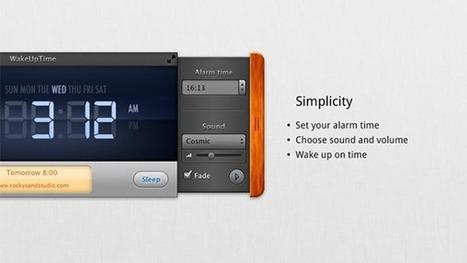 إضافة مُنبّه Alarm لنظام ماك   4tecme   Scoop.it
