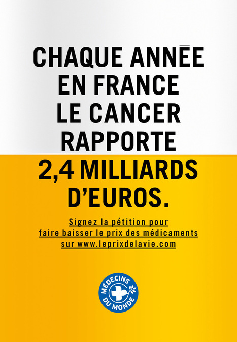 Chaque année en France, le cancer rapporte 2,4 milliards d'euros | Ca m'interpelle... | Scoop.it