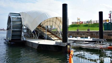 This giant hamster wheel is cleaning up Baltimore Harbor | Ellis IP | Scoop.it