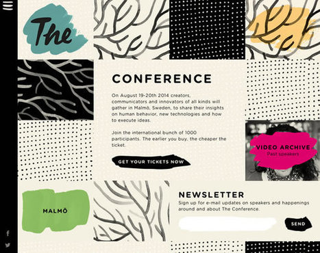 13 Inspiring Examples of Textures and Patterns in Web Design | Inspiration | Graphic Design | Scoop.it
