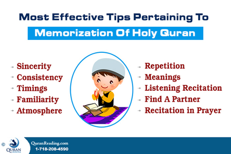 Most Effective Tips Pertaining To Memorization Of Holy Quran   islam in our daily lives   Scoop.it