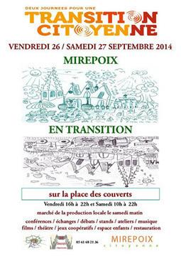 Mirepoix en transition: une manifestation citoyenne les 26 et 27 septembre | Villes en transition | Scoop.it