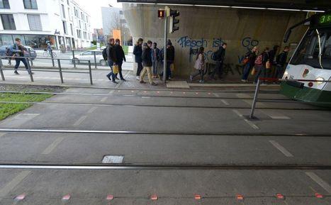 Stoplicht in de straat voor smartphone-zombie | Built Environment | Zuyd Bibliotheek | Scoop.it