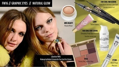 Fall 2016 makeup trends natural glow - Too Cool For School - A Beauty Feature | A Beauty Feature | Scoop.it