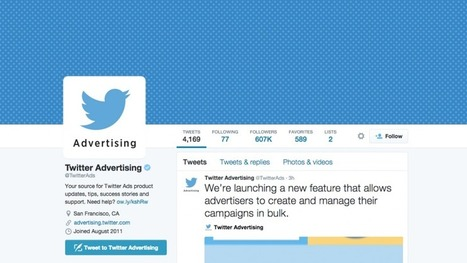 Twitter Launches Ads Editor For Bulk Campaign Creation And Management - WebProNews | Social Media Tools and new Technology | Scoop.it