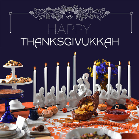 How To Celebrate Thanksgivukkah, The Best Holiday Of All Time | aquarium | Scoop.it