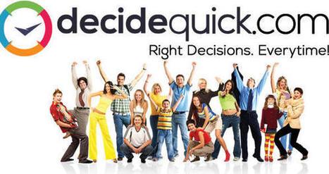 DecideQuick créé une plate-forme sociale de prise de décision ... | Marketing innovations | Scoop.it