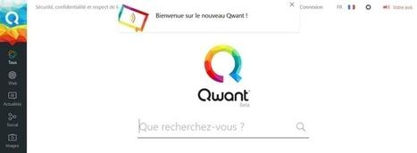 Moteur de recherche : le petit français Qwant s'offre un lifting | François MAGNAN  Formateur Consultant et Documentaliste | Scoop.it