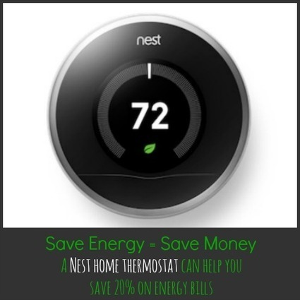 The Nest Home Thermostat: Save Energy, Save Money! | DIY Smart House | Scoop.it