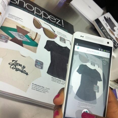 [m-commerce] Zoomdle, le Shazam de la mode | QR code, NFC, Réalité augmentée… | Scoop.it