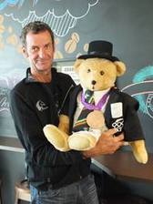 Mark Todd Supports New Zealand Children's Hospital with a Teddy Bear--and autographs | The Jurga Report: Horse Health, Welfare, and Care | Scoop.it
