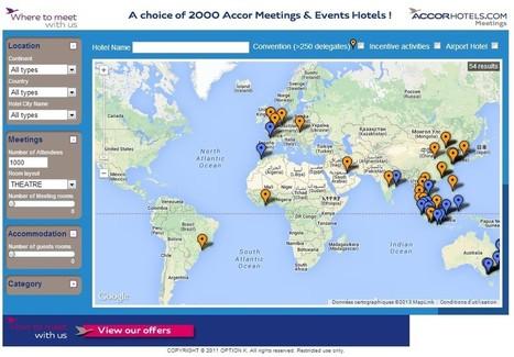 Meeting Hotel Finder : le nouveau portail MICE d'Accor   Le tourisme d'affaires (MICE)   Scoop.it