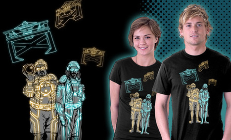 You want a Tron/Lebowski mash-up t-shirt? today only !!! | All Geeks | Scoop.it