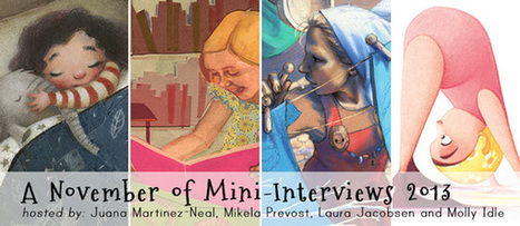 The November Mini-Interviews 2013 | Picture Book Illustration | Scoop.it