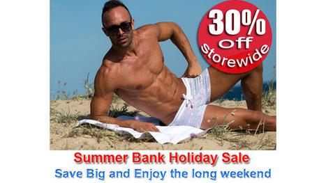 Summer Bank Holiday Sale! Enjoy Massive Discount Storewide! | Men's Underwear and Swimwear Blog | www.concupisco.com - Mens Underwear and Swimwear | Scoop.it