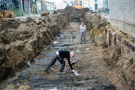 Sporen van middeleeuwse bebouwing gevonden | achille | Scoop.it