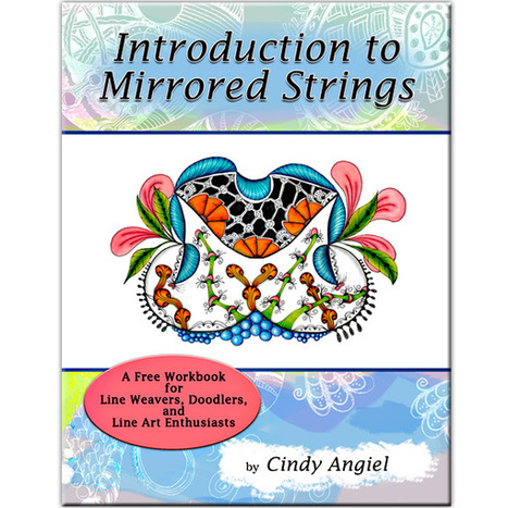 Mirror String Art – Book Series | Craft Happy Art-Shopette | Artistic Line Designs-all free | Scoop.it
