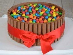 Recette gateau kit kat - Birthday Party Cake | Fiestas & Fêtes pour les petits | Scoop.it