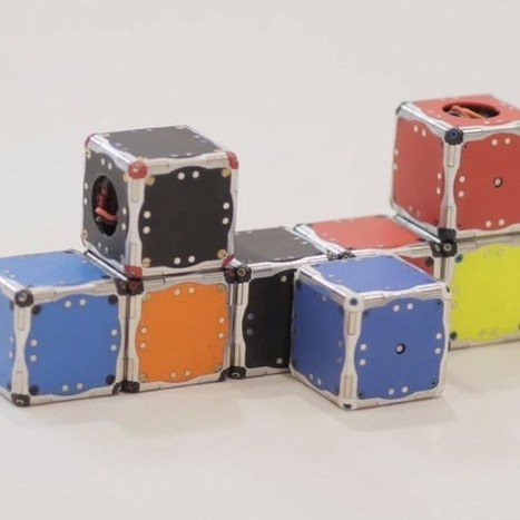 MIT's self-assembling robot cubes offer whiffs of Optimus Prime | Regenerating IT | Scoop.it
