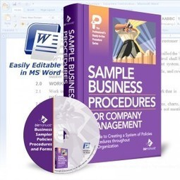 Business Procedures Examples and Manual Sampler | Policies, Procedures and Processes | Scoop.it
