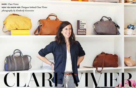 Fashion Designer Clare Vivier | The Everygirl | Fab Fashions | Scoop.it