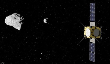US-European Aida mission will crash probe into an asteroid to try and alter ... - Daily Mail | Astronomy News | Scoop.it