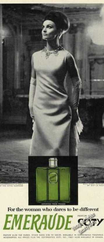 Vintage Perfume Ads of the 1960s | FRAGRANCE ADVERTISING | Scoop.it