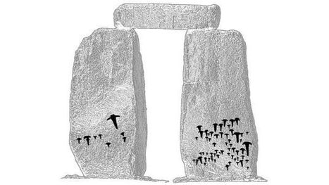 Prehistoric artwork uncovered on Stonehenge - Spatial Source | Cultural Heritage Experience Design | Scoop.it