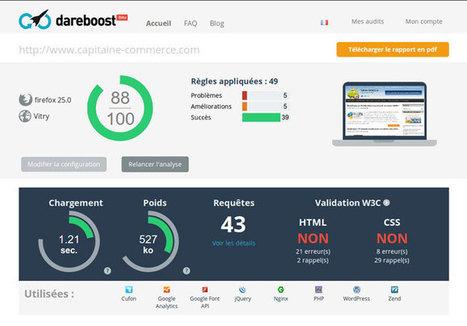 Testez les performances de votre site Ecommerce avec DareBoost   Time to Learn   Scoop.it