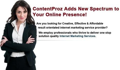 Internet Marketing Services | Internet Marketing | ContentProz | Internet Marketing - ContentProz | Scoop.it