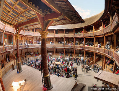 The Beautiful Globe Theater | Cole Hollis' A Midsummer Nights Dream | Scoop.it