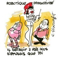 La robotique au service de la productivité | Une nouvelle civilisation de Robots | Scoop.it
