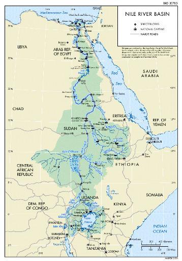 Ressources en eau et irrigation : l'Egypte participe à plusieurs projets de développement dans les pays du bassin du Nil | Égypt-actus | Scoop.it