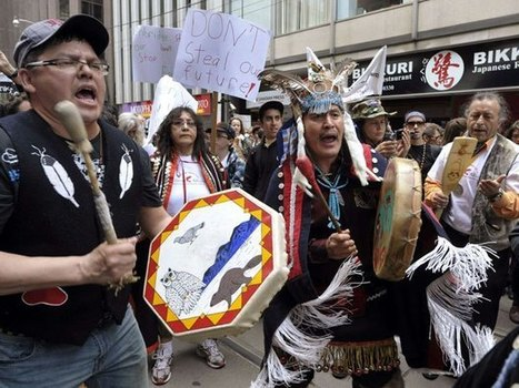 White Wolf: First Nations say they will fight oilsands, pipeline   Native Americans   Scoop.it