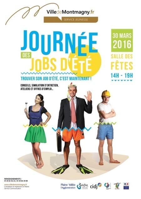 Partez à la chasse aux jobs d'été à Montmagny | Infos en Val d'Oise | Scoop.it