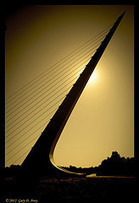 Sundial Bridge Silhouette | Artifacts | Scoop.it